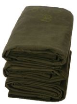 20 X 24 Heavy Duty Fire Retardant Canvas Tarp - 10Oz