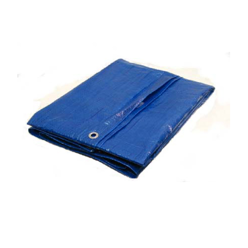 12 X 12 Light Duty Utility Blue Tarp