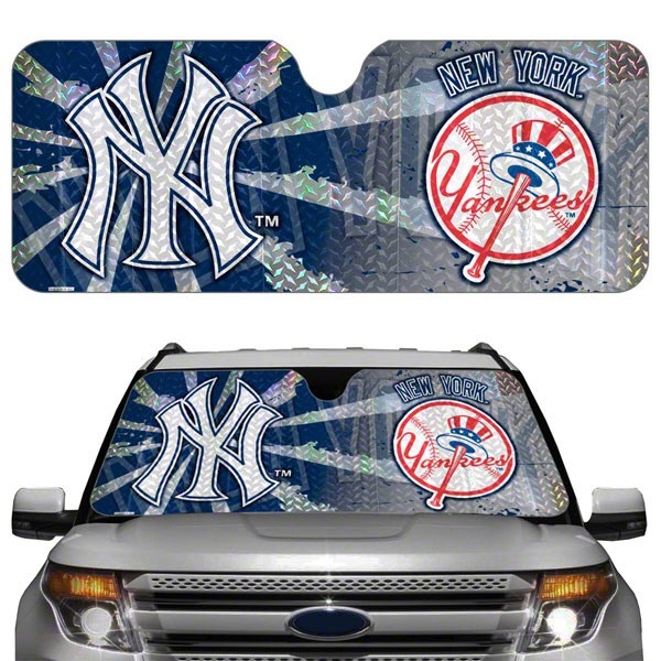 New York Yankees MLB Auto Sunshade Cover