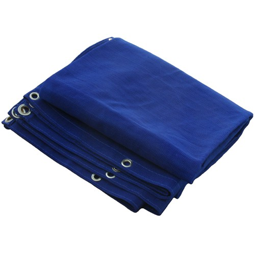 24 X 24 Heavy Duty Blue Mesh Tarp