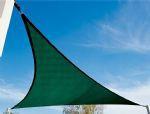"11'10"" Triangle Shade Sail: Brunswick Green"