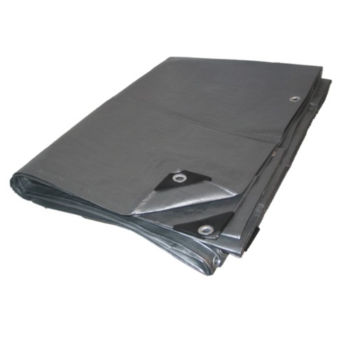 06 X 16 Heavy Duty Premium Silver Tarp