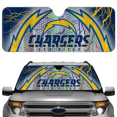 San Diego Chargers NFL Auto Sunshade Cover