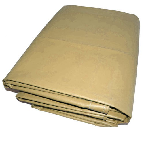 10 X 10 Tan Vinyl Tarp 13oz Heavy Duty Vinyl Tarps