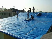 10' X 24' Hurricane Tarps - Case
