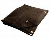 10 X 20 Heavy Duty Black Mesh Tarp