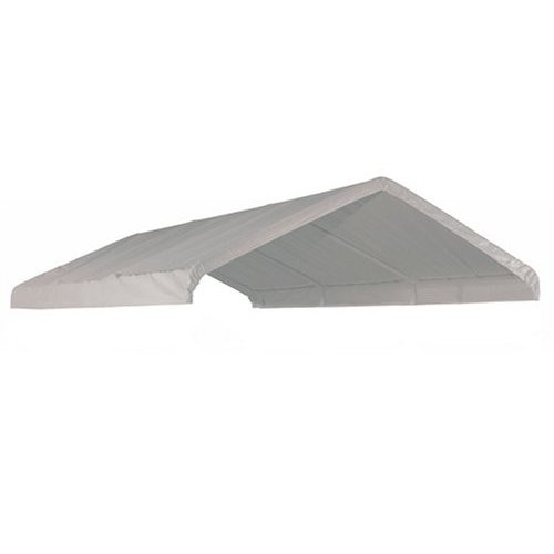 12 X 20 Canopy Valance Cover (White Fire Retardant)