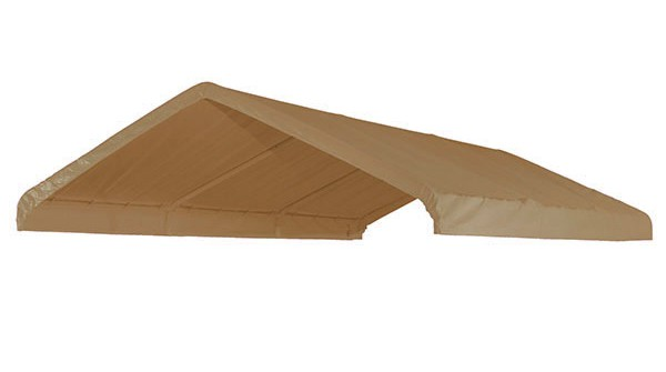 10 X 20 Canopy Valance Cover (Beige)  sc 1 st  Tarp Cover Sales & X 20 Canopy Valance Cover (Beige)