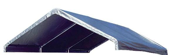 12 X 20 Canopy Valance Cover (Silver Fire Retardant)