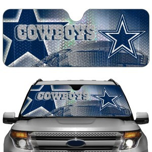 Dallas Cowboys NFL Auto Sunshade Cover