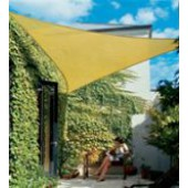 "9'10"" Triangle Shade Sail: Desert Sand"