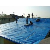 24' X 24' Hurricane Tarps - Case