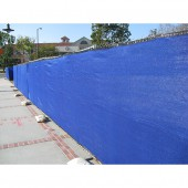 8' X 50' HEAVY DUTY BLUE FENCE SCREEN MESH TARP