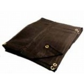 50 X 50 Heavy Duty Black Mesh Tarp