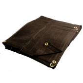16 X 30 Heavy Duty Black Mesh Tarp