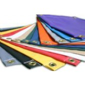 10' X 10' Super Heavy Duty Vinyl Tarps 18 oz Coated Polyester