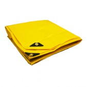 10 X 10 Heavy Duty Premium Yellow Tarp