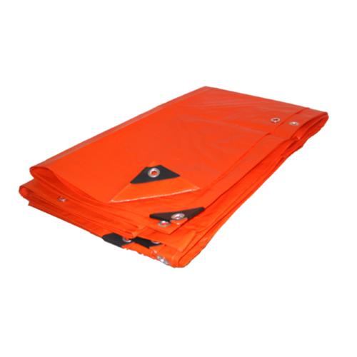 18 X 24 Heavy Duty Premium Orange Tarp