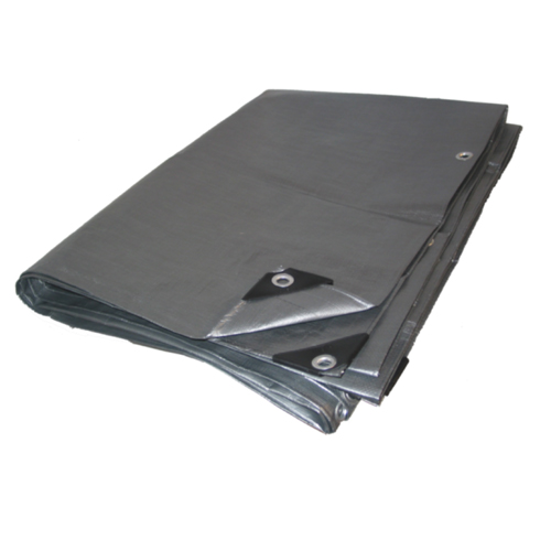 06 X 10 Heavy Duty Premium Silver Tarp