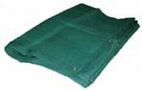 07 X 16 Heavy Duty Green Mesh Tarp