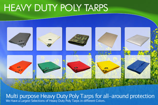 Fire Retardant Tarps Heavy Duty Poly Tarps ...