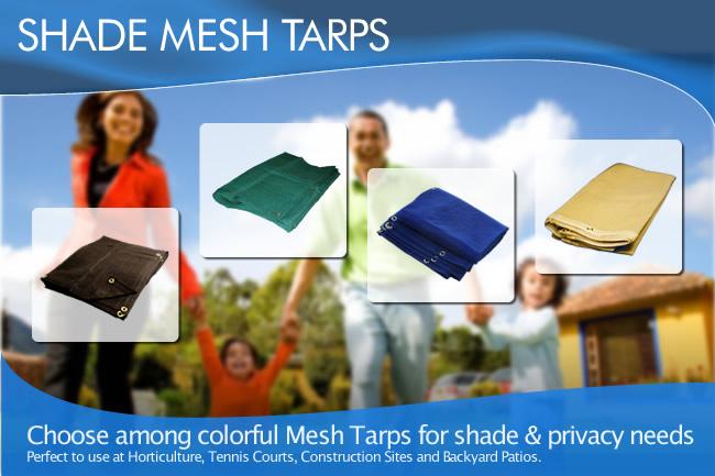 Shade Mesh Tarps